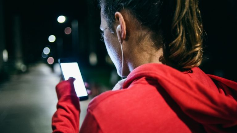 How having your phone out on the road, street, or footpath leaves you vulnerable