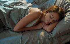Sleeping in the foetal position could make your period more bearable