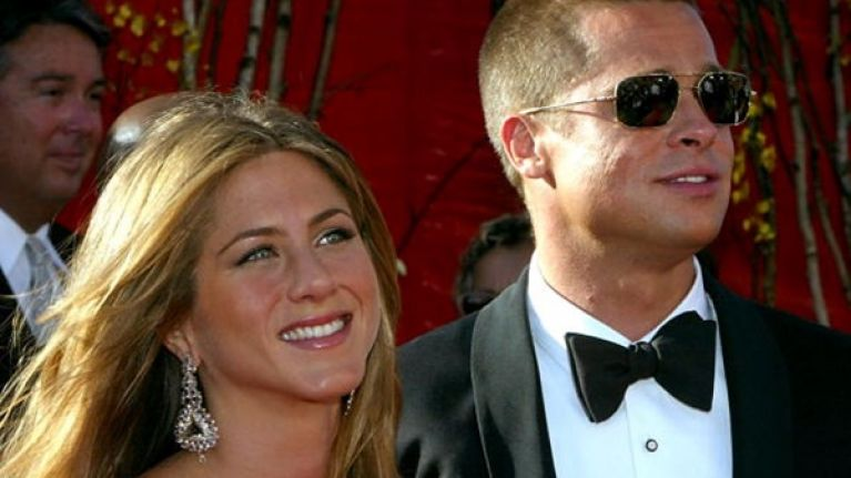 Brad Pitt's been texting his ex (and we don't know how we feel about this)