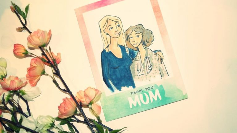 Here's how you can get a beautiful illustration of your mum and help LauraLynn Children's Hospice
