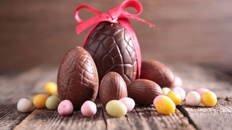 the amount of easter eggs consumed in ireland each year is