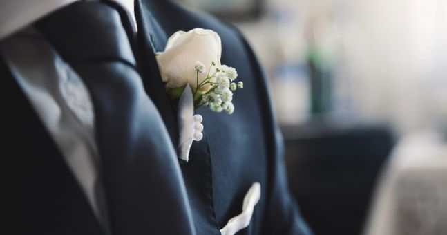 This Kildare groom did something very controversial with his bride's wedding dress