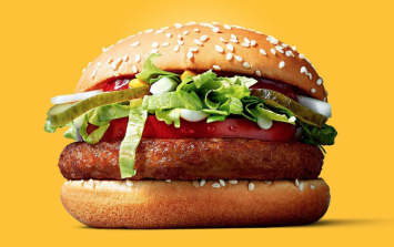 Avoiding meat? McDonald's has officially launched its vegan burger
