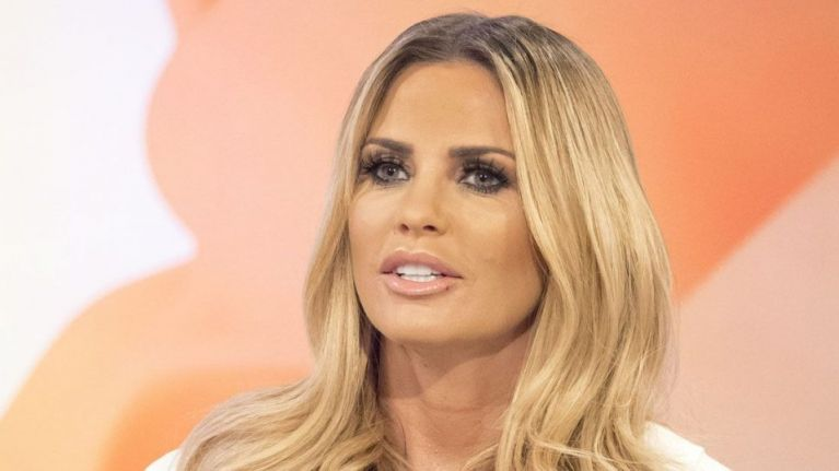 Katie Price is selling her old breast implants online for the saddest reason