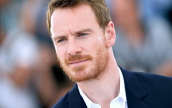 It's Michael Fassbender's wedding weekend in Ibiza... and he's living it up
