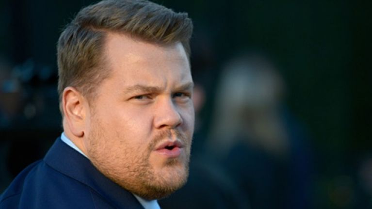 James Corden goes in on Harvey Weinstein while hosting AIDS benefit