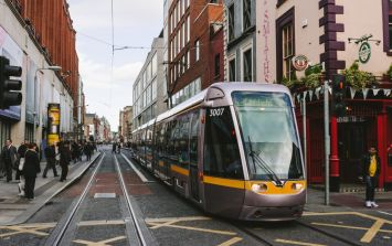 Two people stabbed at Luas stop this morning