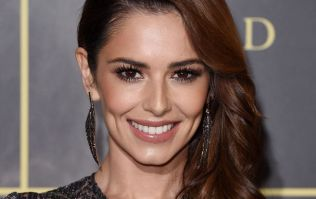Cheryl wore the most stunning rainbow dress last night, and WOW