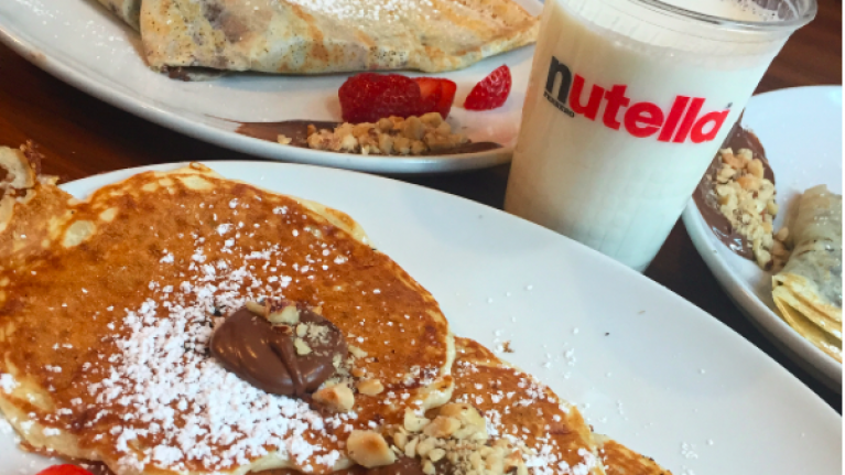 This NUTELLA bar is our latest bucket list destination and we need to go ASAP