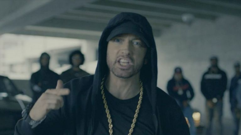 Everyone's talking about Eminem's fiery performance at the BET Awards