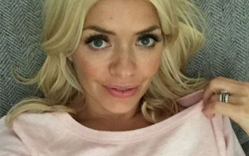 Everyone was talking about Holly Willoughby's €1100 dress last night