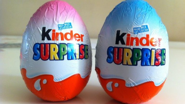 Kinder Surprise eggs receive backlash for their 'sexist' packaging