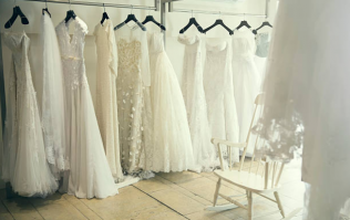 This well-known label just released a line of affordable wedding dresses