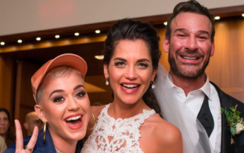 Katy Perry gatecrashed a wedding and the photos are absolutely gas