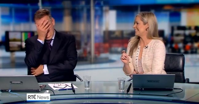 RTÉ's classy tribute to Bryan Dobson on his final news broadcast