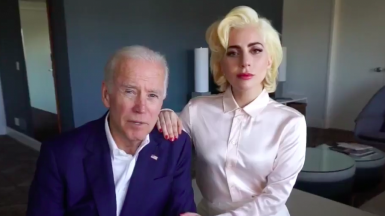 Lady Gaga and Joe Biden's powerful message on sexual assault