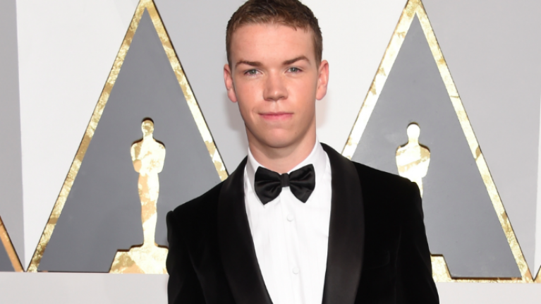 Will Poulter dressed as the bully from Toy Story and the