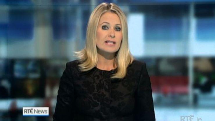 Sharon Ní Bheoláin makes formal complaint to RTÉ after newsroom row