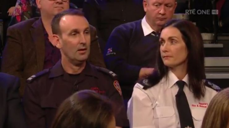 Firefighter talks about his cousin who died helping others during Ophelia