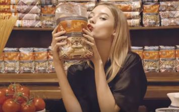Forget clothes... Dolce and Gabbana are now selling PASTA for €100