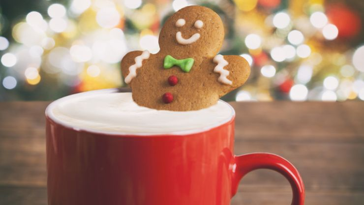 Bah-humbug! We're consuming a LOT of calories when sipping on festive coffees