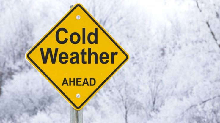 Met Eireann has issued a status yellow snow warning for several counties