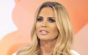 Katie Price just suffered an epic fake tan fail