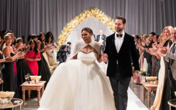 Serena Williams jets off on honeymoon (and she's brought her baby)