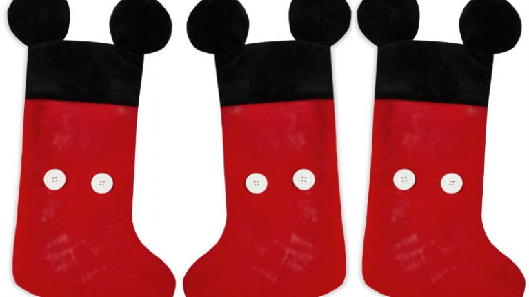 these 8 mickey mouse christmas stockings are divine - Mickey Mouse Christmas Stocking