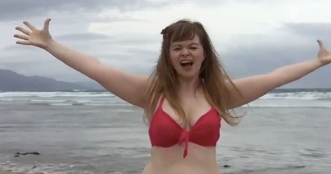 Kerry mum's gas video about body confidence post-pregnancy