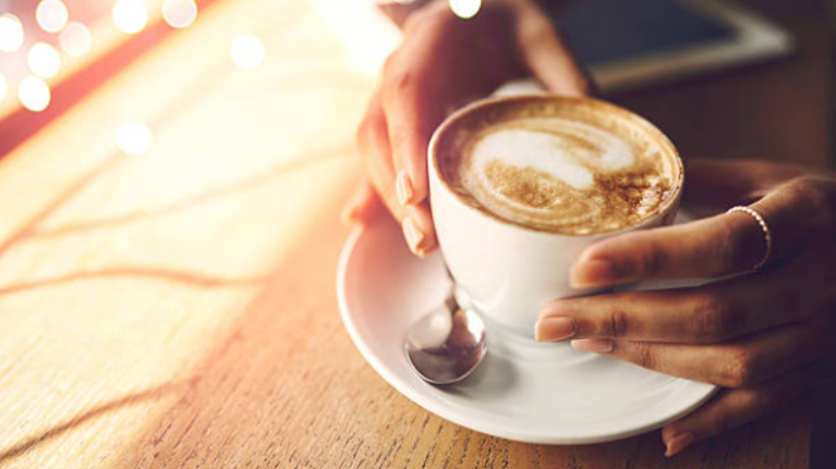 Um... apparently we've been holding our coffee cups wrong