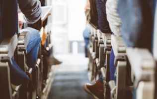 Here's an easy way to get an entire row to yourself on a plane