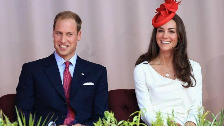 The Cambridges are partying in London (and Kate borrows some FAB jewellery)