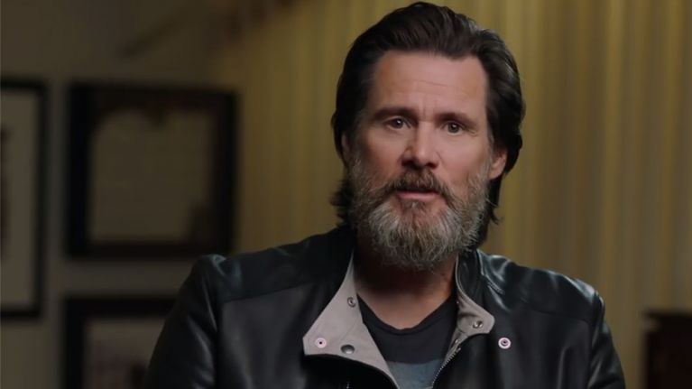 jim carrey has a new documentary on netflix and it has everyone