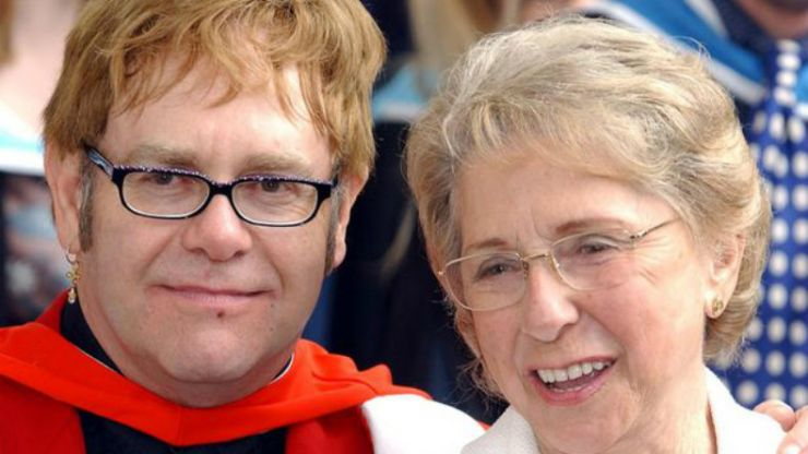 Elton John's mother dies... just months after she and her son reconciled