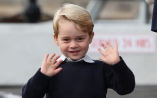 The role George played in his school play is revealed (and no, it's not a king!)