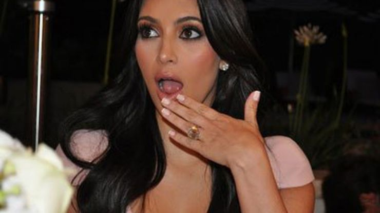 We're CRYING at Kim Kardashian's joke about her 72-day marriage to Kris Humphries