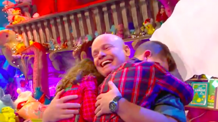 Late Late Toy Show's Sergeant Graham Burke on making Ireland cry