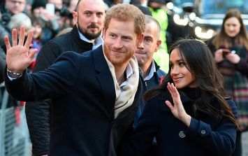 Prince Harry and Meghan have made their first official public appearance
