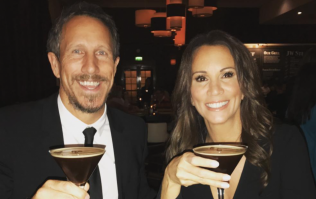 Andrea McLean just got married in a stunning fitted lace gown
