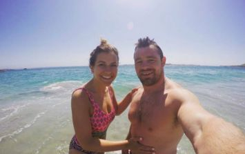 Congratulations to the happy couple! Cian Healy is now officially engaged
