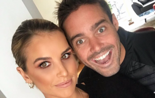 'The best day of my life...' Vogue Williams reveals the first picture from her wedding