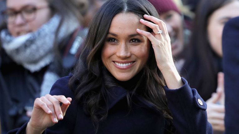 French fashion designer hints he may have made Meghan's wedding dress