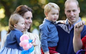 Kate and Wills just released a family Christmas card... and the cuteness
