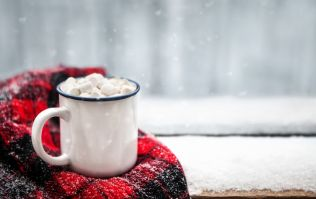 Say hello to red wine hot chocolate... your snow day companion