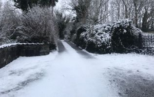 Absolute legend tweets 'Snow joke out there' in response to cold snap