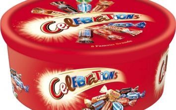 JOY! A delicious new chocolate is being added to Celebrations this Christmas