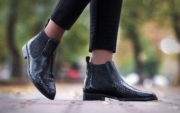This is the ankle boot style that's going to be OUT of fashion in 2018