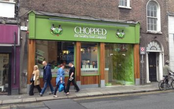 Chopped is giving away free salads at one of its stores this morning