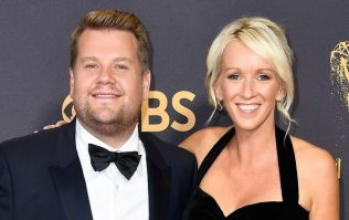 James Corden and his wife Julia welcome their new daughter